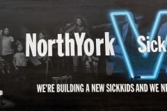 Yorkville  st Mural for SIckkids hospital