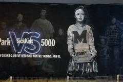 regentpark st Mural for SIckkids hospital