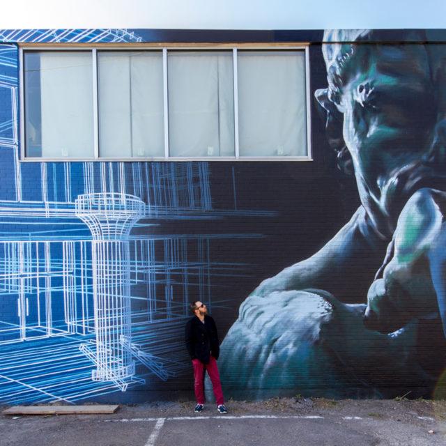 Urbacon Mural by OMEN514