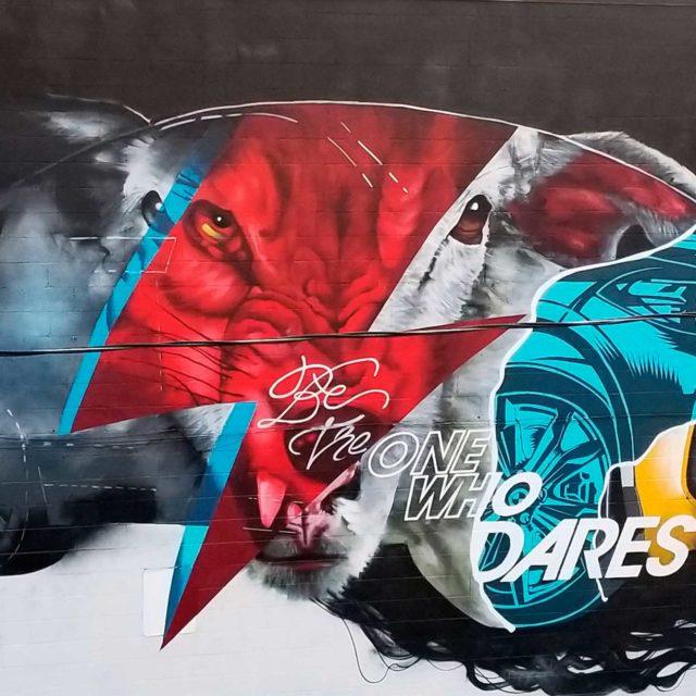 BMW Mural by Omen514